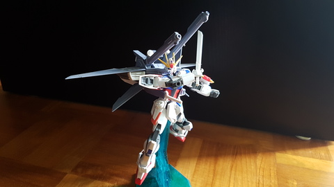 Hg Build Strike Gundam + I.W.S.P.