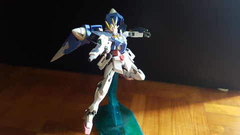 Hg Double X gundam + 00 Raiser